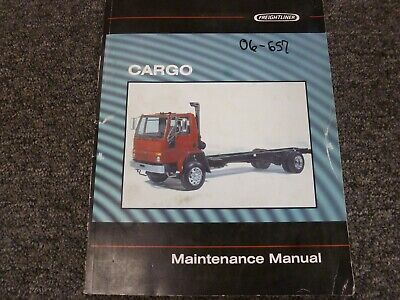 1997 Freightliner Cargo FC60 FC70 FC80 Truck Shop Service Maintenance Manual