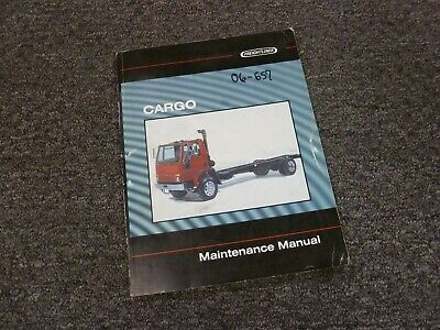 1999 Freightliner Cargo FC60 FC70 FC80 Truck Shop Service Maintenance Manual