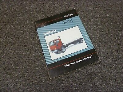 2001 Freightliner Cargo FC60 FC70 FC80 Truck Shop Service Maintenance Manual