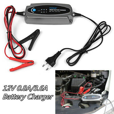 12V 0.8A 3.6A Motorcycle Auto Battery Acid battery Smart Charger & Conditioner