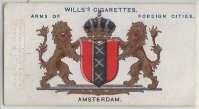 Amsterdam Netherlands Coat Of Arms Holland 100+ Y/O  Ad Trade Card