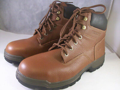 e70bfee9cf0 WOLVERINE CABOR EPX Men's Brown Leather Waterproof Steel-Toe Boots ...