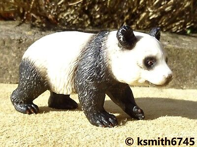 NEW Schleich PANDA BUNDLE solid plastic toy wild zoo Asian animal figure