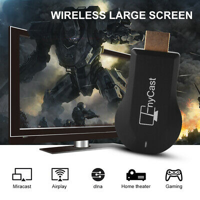 MX18 PLUS 1080P WiFi Wireless Display Recceiver Miracast Dongle Airplay AH490