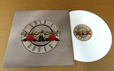 New Guns N Roses Greatest Hits White Vinyl LP w/Poster Unplayed No Reserve