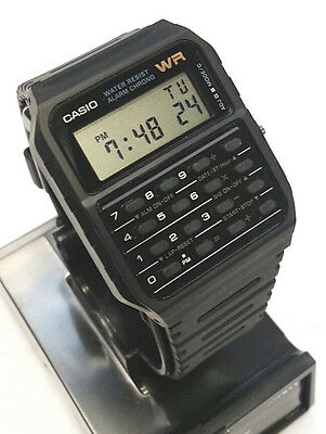 CASIO authentic VINTAGE Style Calculator Watch CA53-1 Classic CA53 New with Box