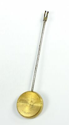 FRENCH CLOCK PENDULUM BOB with ROD and SCREW 1.7 oz. - ANTIQUE - SP566