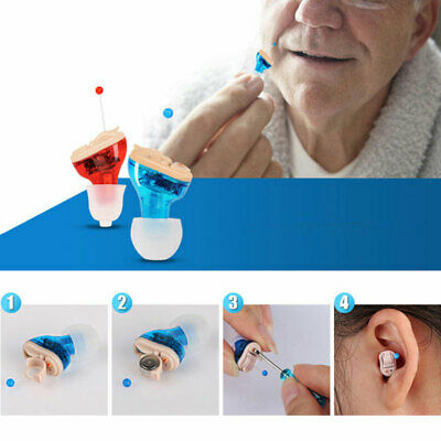 Small inner Ear Invisible Hearing aid Adjustable Wireless Mini CIC Hearing Aids