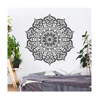 MANALI Furniture Wall Floor Stencil for Paint - 25cm
