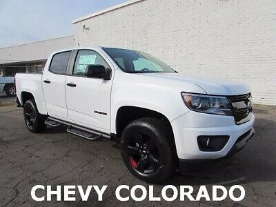 2018 Colorado LT 2018 Chevrolet Colorado LT 4D Crew Cab V6 8-Speed Automatic Summit White