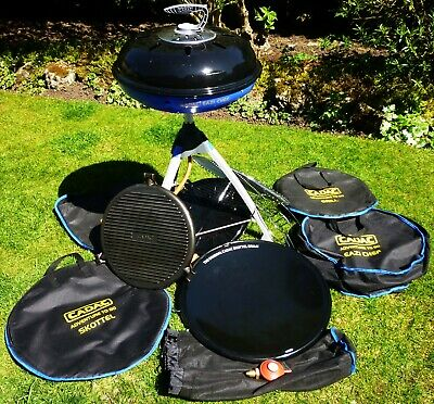 Cadac Adventure To Go.Cadac Eazi Chef Gas Bbq With Numerous Accessories Lid And