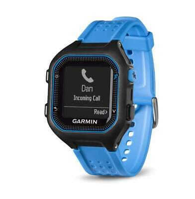 Garmin Forerunner 25 Black and Blue Large GPS Running Watch Refurbished