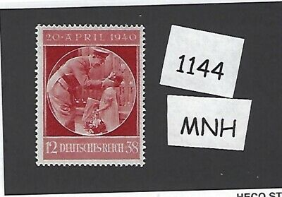 MNH stamp / Adolph Hitler with a child / 1940 Birthday issue / Nazi Germany MNH