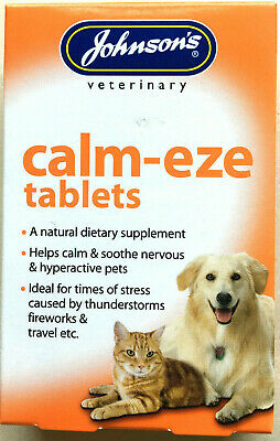 Johnson's Calm-eze Tablets (Suitable for Dog and Cat)