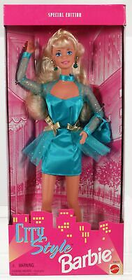 City Style Barbie Doll Special Edition #15612 New NRFB 1995 Mattel, Inc. 3+