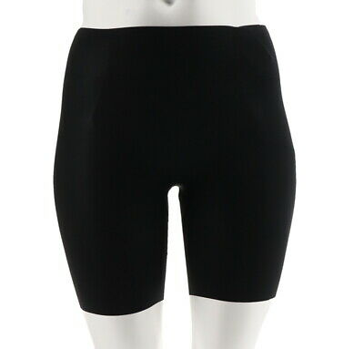 Spanx Trust Your Thinstincts Mid-Thigh Shaping Short Very Black XL NEW A304185