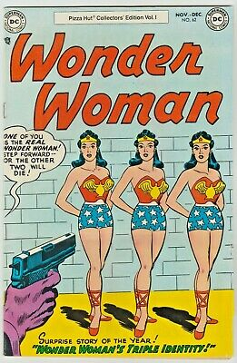 Wonder Woman # 62, VF- 1977, Pizza Hut Give Away Issue ( Scarce ) Most sought