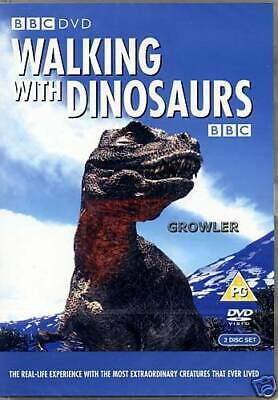BBC = Walking With Dinosaurs [2 DISC SET]= VGC CERT PG RUNTIME 3 HOURS 50 MINS