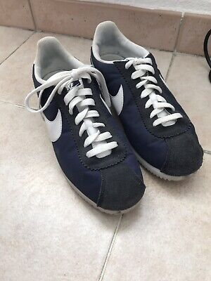 info for faa3c 7fd14 Chaussures Hommes Sneakers Nike Classic Cortez Nylon Bleu