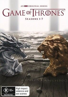 Game Of Thrones The Complete Seasons 1-7 : NEW DVD Box Set