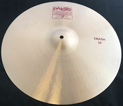 "18"" Paiste 2002 Crash Cymbal - Brand New"
