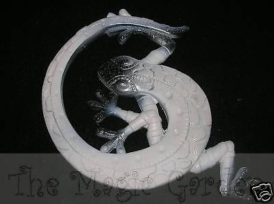 Gecko lizard reptile plaster cement craft latex moulds molds
