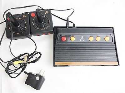 Atari Flashback Gold  7 Addition Classic Game Console w/ 2 Controllers