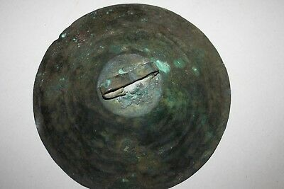 ANCIENT IRON AGE BRONZE CYMBAL c.1000 BC Musical Instruments