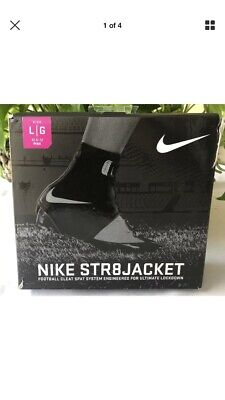 98f7ab8600e Mens NIKE STR8 Jacket Spat for Football Cleats PINK Cancer Large 10.5 - 12
