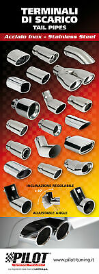 99184 Poster cm 58x160 Sport Tail pipes & Mufflers 1pz