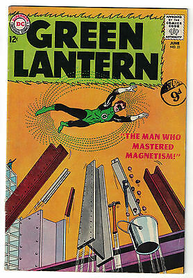 DC Comics GREEN LANTERN Issue 21 The Man Who Mastered Magnetism! FN-