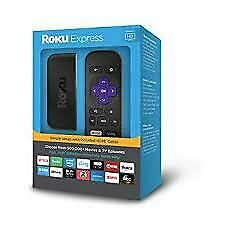 NEW Roku Express | Easy High Definition (HD) Streaming Media Player FREE SHIP