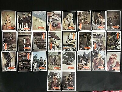 Scanlens Planet Of The Apes Trading Card Lot Of 26
