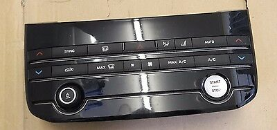 Jaguar Xe 2014 - On Heater Air Con Panel With Start Stop Button Gx73-18C858-Gf
