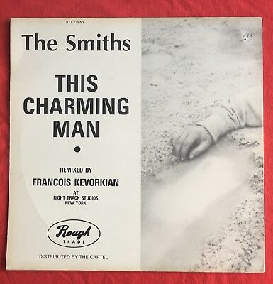 """THE SMITHS -This Charming Man- New York Mix UK 12"""" Amended logo no stars or dome"""