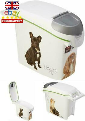 NO SMELL Dry Dog Food Container Pets Large Storage Bin Feed Box Pet Fresh 15 L