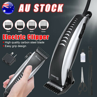 Hair Cut Electric Comb Clipper Beard Trimmer Cutting Mens Grooming Shaver Razor