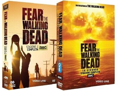 Dvd Fear The Walking Dead - Stagione 01-02 (6 Dvd)....NUOVO