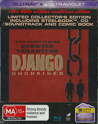 Django Unchained - Limited Collector's Edition Steelbook + Comic Book (Blu-ray)