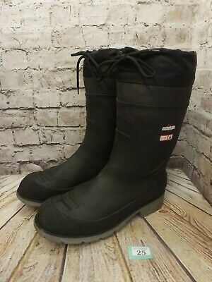Mens AGGRESSOR Insulated Rubber Wellington Work Boots Size UK 12