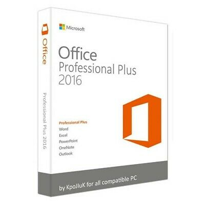 Microsoft Office 2016 Professional Plus Product Key Instant Delivery 32/64 Bit