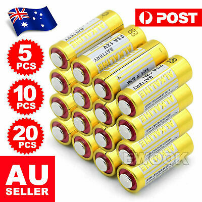 5 x 23A 21/23 A23 23A 23GA 23AE 12V Alkaline Battery for Garage Car Remote Alarm