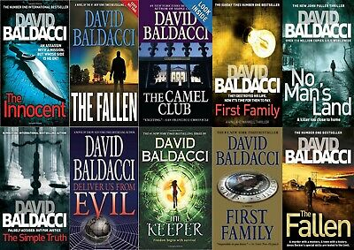David Baldacci - all 14 Audiobook Collection  (Audiobook)