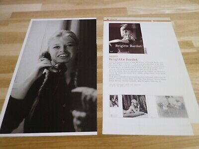 BRIGITTE BARDOT - Article de magazine !!! 2 pages