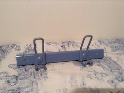 Vintage French Industrial Style Coat Hooks, Mid Century Factory/School (3357)