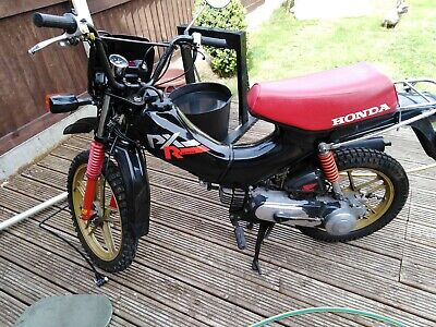 Honda pxr50 moped black/red/gold 1988