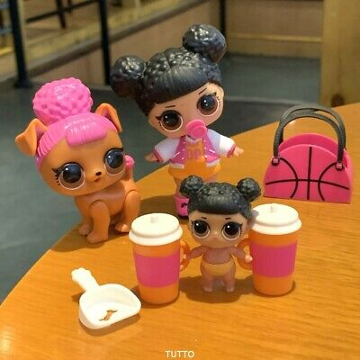 LOL Surprise Doll Hoops MVP Family L.O.L. LiL Sisters & Pet CLUB SERIES 2 Toys