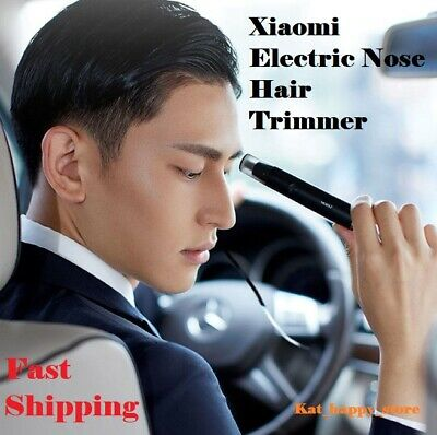 Electric Trimmer 360 Degree Rotate Ear Nose Hair Razor Clipper Safe Cleaner 2019
