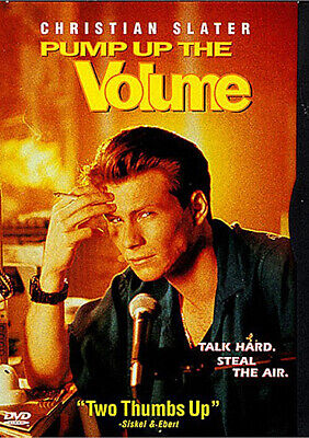 New Pump Up The Volume Dvd - Keep Case - Christian Slater - Samantha Mathis