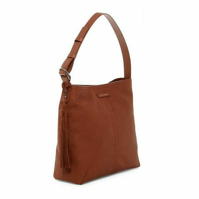 d54844fef4 CALVIN KLEIN TOTE Shopper Handbag H4AA1888 Color Toffee Large NWT ...